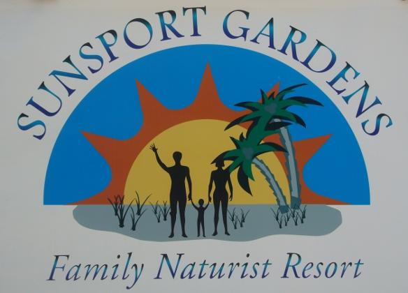 Sunsport Gardens sign