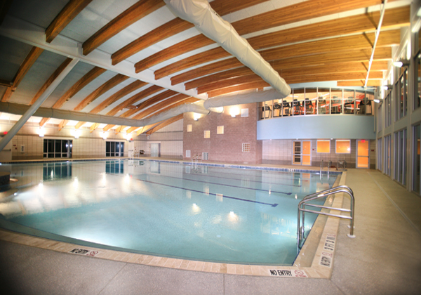 18,000 square foot State of the Art Indoor Pool and Wellness Center