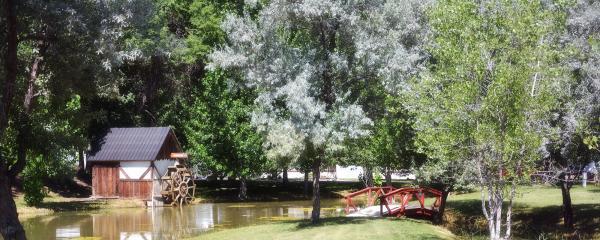 Uncompahgre River RV Park (Olathe CO).