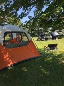 River of the Double Bend Campground in Trent South Dakota