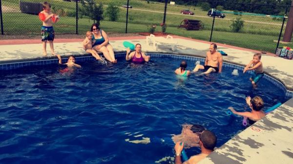 Make a Splash in our nes Salt Water Pool