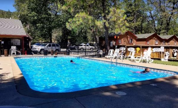 Swimming Pool Lakeshore Inn & RV