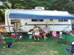 Water/Electric/Sewer Camp Site