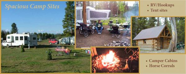 Rent a cabin or bring your RV to Winding River Resort in Grand Lake
