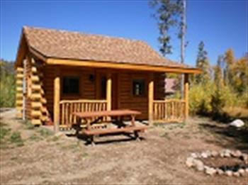 Great cabins for rent at Winding River Resort in Grand Lake