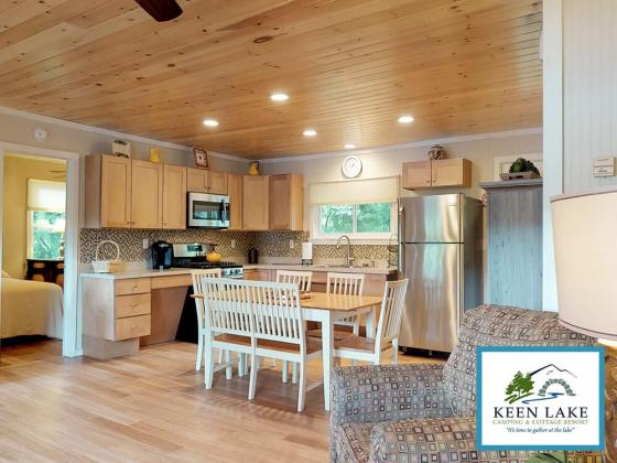 Our selection of cottages and rental vacation units at Keen Lake is a variety of cozy, comfortably appointed, and clean vacation cottages to provide your friends and family with the very best in Pocono camping.